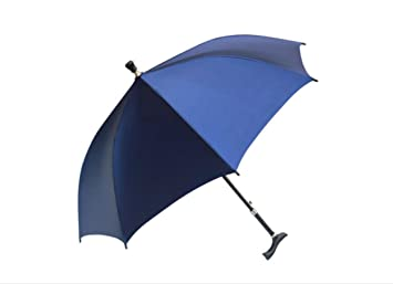 paraguas Paraguas del bastón del paraguas del viejo hombre, paraguas antideslizante que sube retractable multiusos