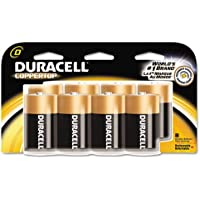 Duracell Products - Duracell - Coppertop Alkaline Batteries, D, 8/Pack - Sold As 1 Pack - Trusted Everywhere™. - Reliable, long lasting, portable power. - Enhanced secure seal. - Ideal for everyday devices. - Date coded.