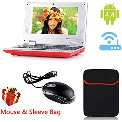 eForprice 7 Mini Notebook Laptop Computer Netbook Android 4.2 System 4GB Storage VIA 8880 Cortex-A9 1.2ghz Wifi Windows Hd Solid Black Coupons