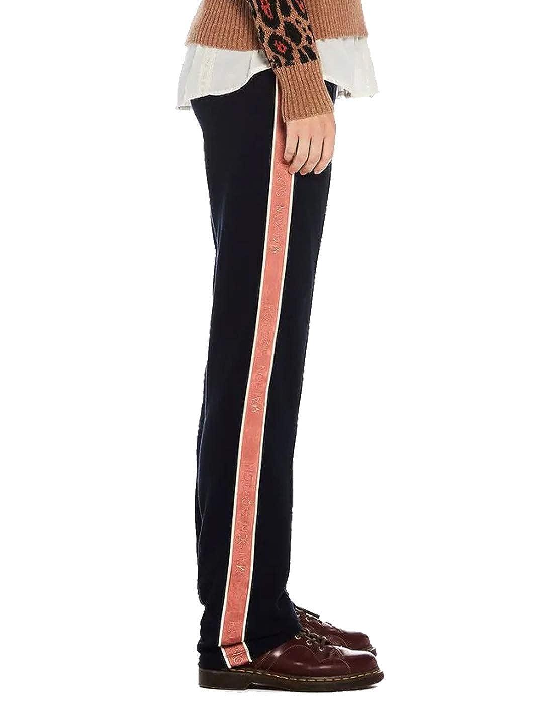 Pantalones elásticos Raya Lateral de Maison Scotch (XS - Azul Navy ...