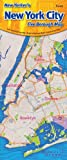 img - for New Yorker's New York City Five Borough Map book / textbook / text book