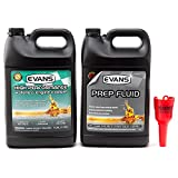 Evans Coolant EC53001-EC42001 High Performance Waterless Coolant and Prep Fluid Combo Pack, 2 Gallon with Funnel