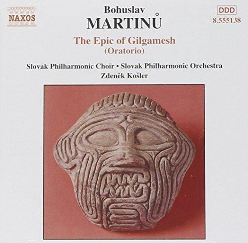 Martinu: The Challenge the Superior lowest price of Japan Epic 2002-03-04 oratorio Gilgamesh