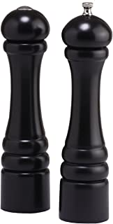 product image for Chef Specialties 10 Inch Imperial Pepper Mill and Salt Shaker Set-Ebony