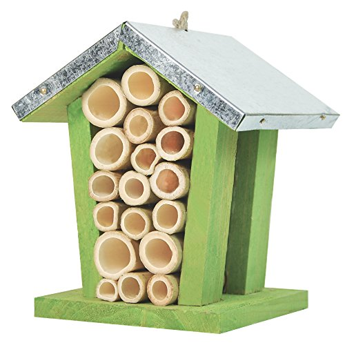 Gardirect mason bee house bug home insect hotel wild bee for Bee decorations for the home