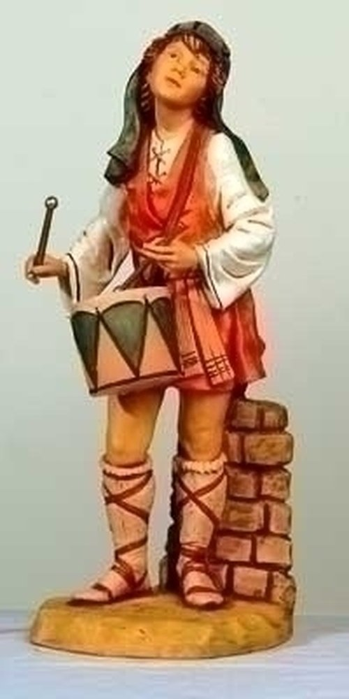 Fontanini 27'' Jareth The Drummer Boy Figure #53101