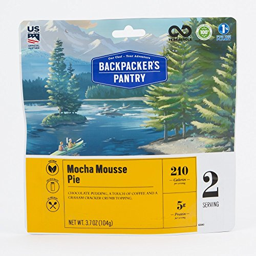 Backpacker's Pantry Mocha Mousse Pie, Two Serving Pouch, (Packaging May Vary)
