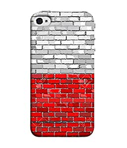 ColorKing Football Poland 01 Multicolor shell case cover for 1ple iphone 5 / 5s / SE