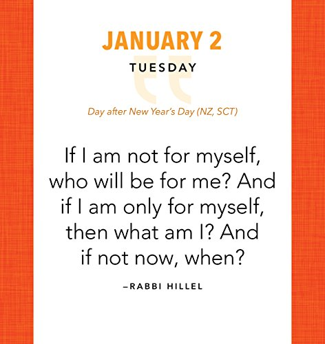 2018 Great Quotes from Great Leaders Boxed Calendar
