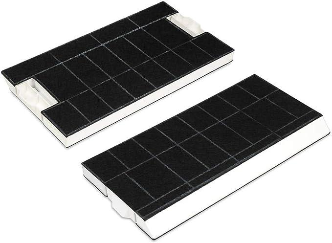 2 filtros de carbón activo para campanas extractoras: Bosch BSH 434229 Siemens LZ45501, Neff Z5144X1, Z5144X5: Amazon.es: Grandes electrodomésticos