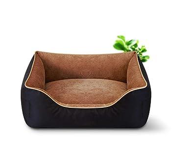 QZX Cama para Mascotas Cama para Perros Lavable Cama ortopédica para Perros y sofá con Funda