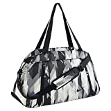 Nike Auralux Gray and Black Tote Duffel Gym Bag for Women
