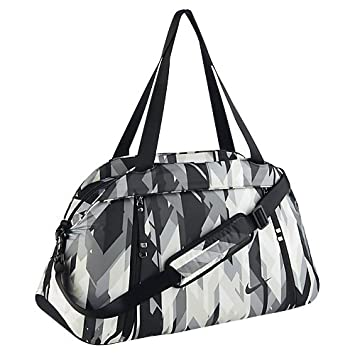 7b6491782b9 Nike Women s Aura Club Print Duffel Bag, Dust Black, One Size ...