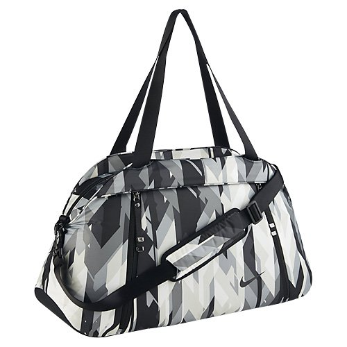 Nike Auralux Gray and Black Tote Duffel Gym Bag for Women (Yoga Nike Bag)