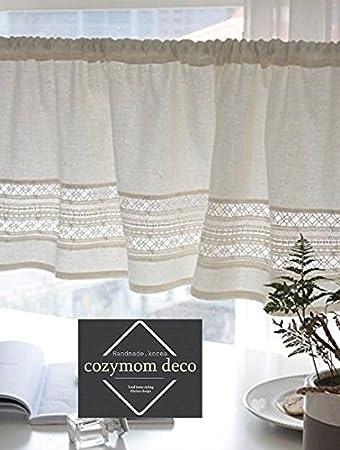 Amazon.de: cozymomdeco handgefertigt Natürliche Baumwolle ...