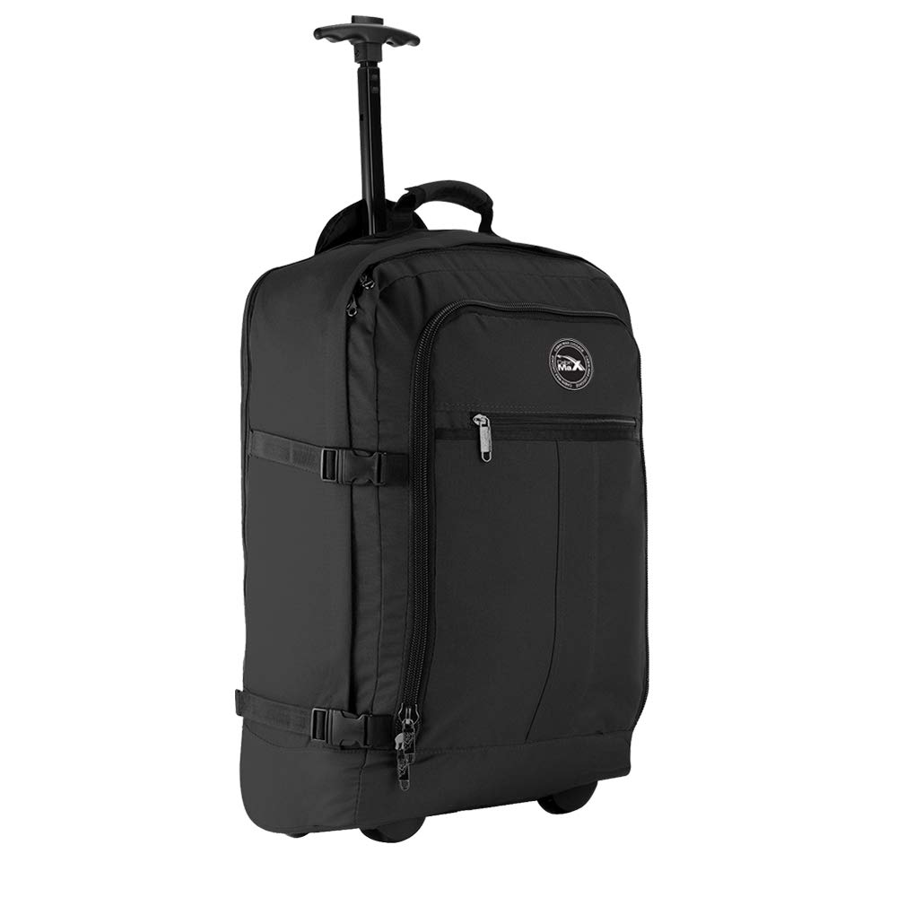Cabin Max Flight Approved Lightweight Carry on Trolley Backpack Bag   Amazon.co.uk  Luggage 973dbb017096e