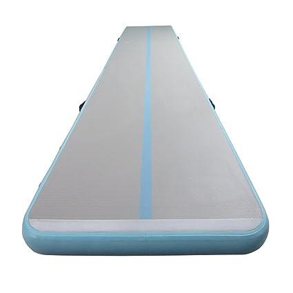 Amazon com : ibigbean Tumble Track Inflatable Gymnastic Tumbling Mat