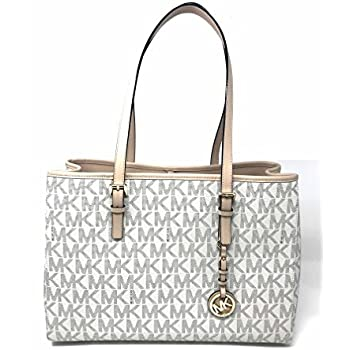 75f4734accf725 Amazon.com: MICHAEL Michael Kors Large Jet Set E/W Travel Tote in ...