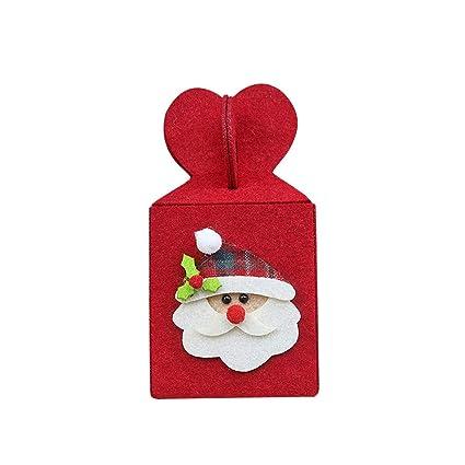 Bolsas de caramelos para Navidad, Feliz Navidad, plegables ...