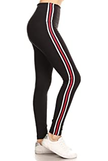 Amazon.com: Leggings Depot - Leggings de yoga (cintura alta ...