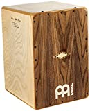 Meinl Artisan String Cajon with Walnut Frontplate / Baltic Birch Body - MADE IN SPAIN - Cantina Line, 2-YEAR WARRANTY (AECLWN)