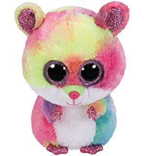TY Beanie Boo Plush - Squeaker the Mouse 15cm  Amazon.co.uk  Toys ... 93c2a550b0b9