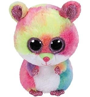 TY Beanie Boo Plush - Squeaker the Mouse 15cm  Amazon.co.uk  Toys ... 83edca29b33e