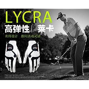 Golf Gloves Male Slip-resistant Granules Microfiber Cloth Gloves Free Shipping