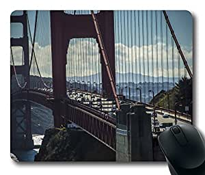Golden Gate Bridge San Francisco Mouse Pad Desktop Laptop Mousepads Comfortable Office Mouse Pad Mat Cute Gaming Mouse Pad