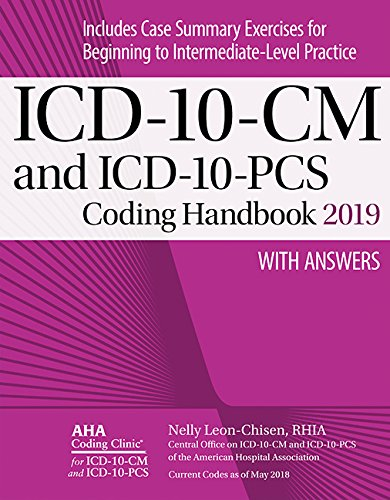 Pdf Health ICD-10-CM and ICD-10-PCS Coding Handbook, with Answers, 2019 Rev. Ed.