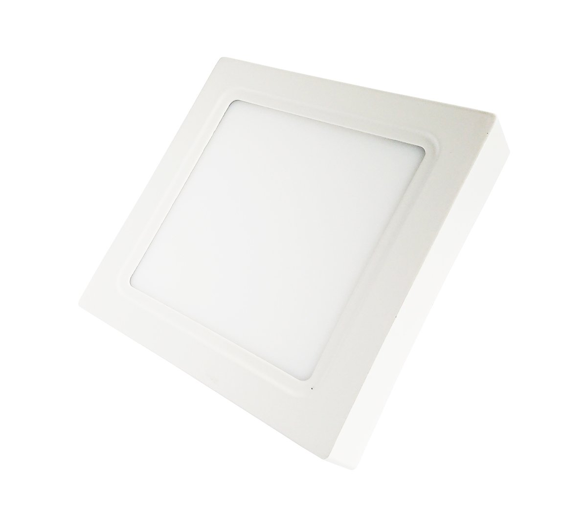Lumentech Square-Shaped LED Surface-Mounted Ceiling Down Light - White - 12 W - 4000 K [Energy Class A]