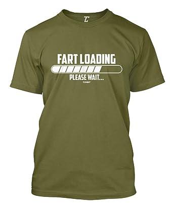 9128634d7 Fart Loading Please Wait - Funny Hilarious Men's T-Shirt   Amazon.com