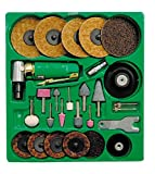 Mountain 7310 Surface Prep Kit with 90 Degree Angle Die Grinder and Surface