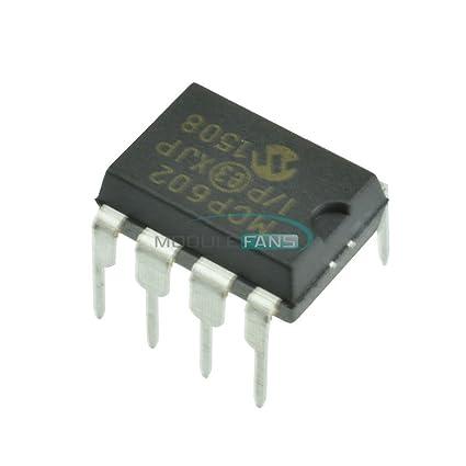 2pcs MCP602 MCP602-I//P IC OPAMP DUAL SNGL 8-DIP NEW