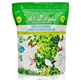 All Natural Laundry Detergent Powder: Biodegradable Plant Based Powdered HE Laundry Soap