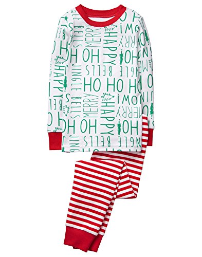 Gymboree Little Boys 2 Piece Cotton Tight Fit Pajamas  Ho Ho Ho  5