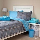 Lavish Home 21-Piece Venice Kids Bedroom and Bathroom Comforter Towels Set, Twin