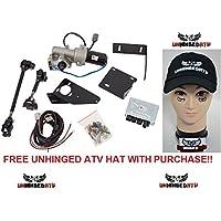 Paquete de 2 artículos: Slasher Kit de dirección asistida productos Kawasaki Teryx 750 impermeable y sombrero gratis de ATV desquiciado!!