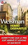 Homo disparitus par Weisman