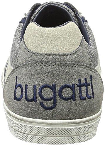 Grigio Scarpe D K48016v6 Uomo da Basse Bugatti Ginnastica SPxYFw5qq