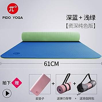 YOOMAT El Principiante TPE Yoga Mat Grueso Ancho ...