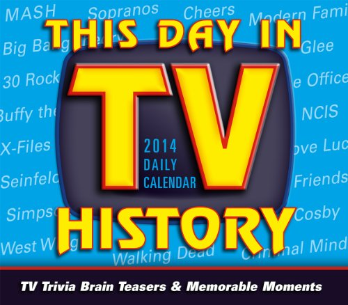 This Day in TV History 2014 Boxed/Daily (calendar)