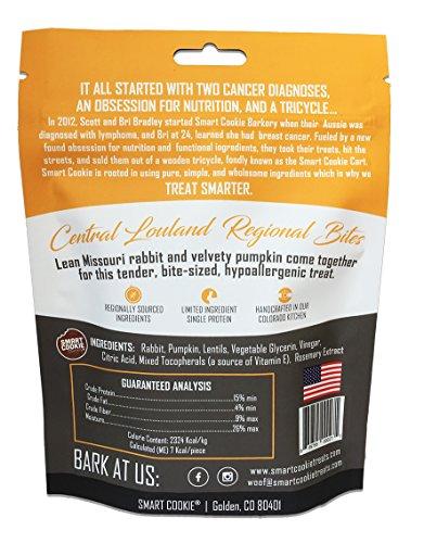 Smart Cookie Rabbit And Pumpkin Dog Treats, Soft Texture, 5Oz Bag