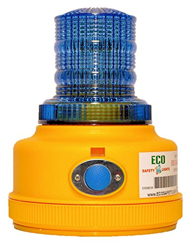 P16LM BLUE Portable 4-Functions Personal Safety Lights 16 LED Warning Safety Beacon Truck Trailer Boat