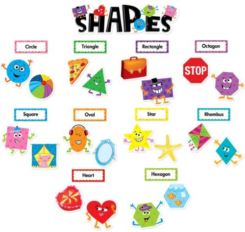 Creative Teaching Press Shapes Mini Bulletin Board Set (6962)