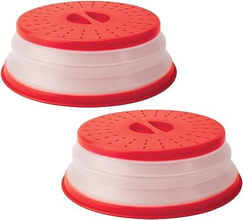 Amazon.com: Cubierta plegable para platos de microondas con ...