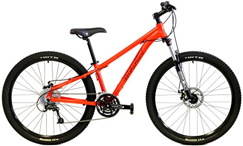 "Gravity 27Five G1 27.5 Disc Brakes Suntour MLO Front Suspension Mountain Bike (Orange, 15"" - fits most 5"