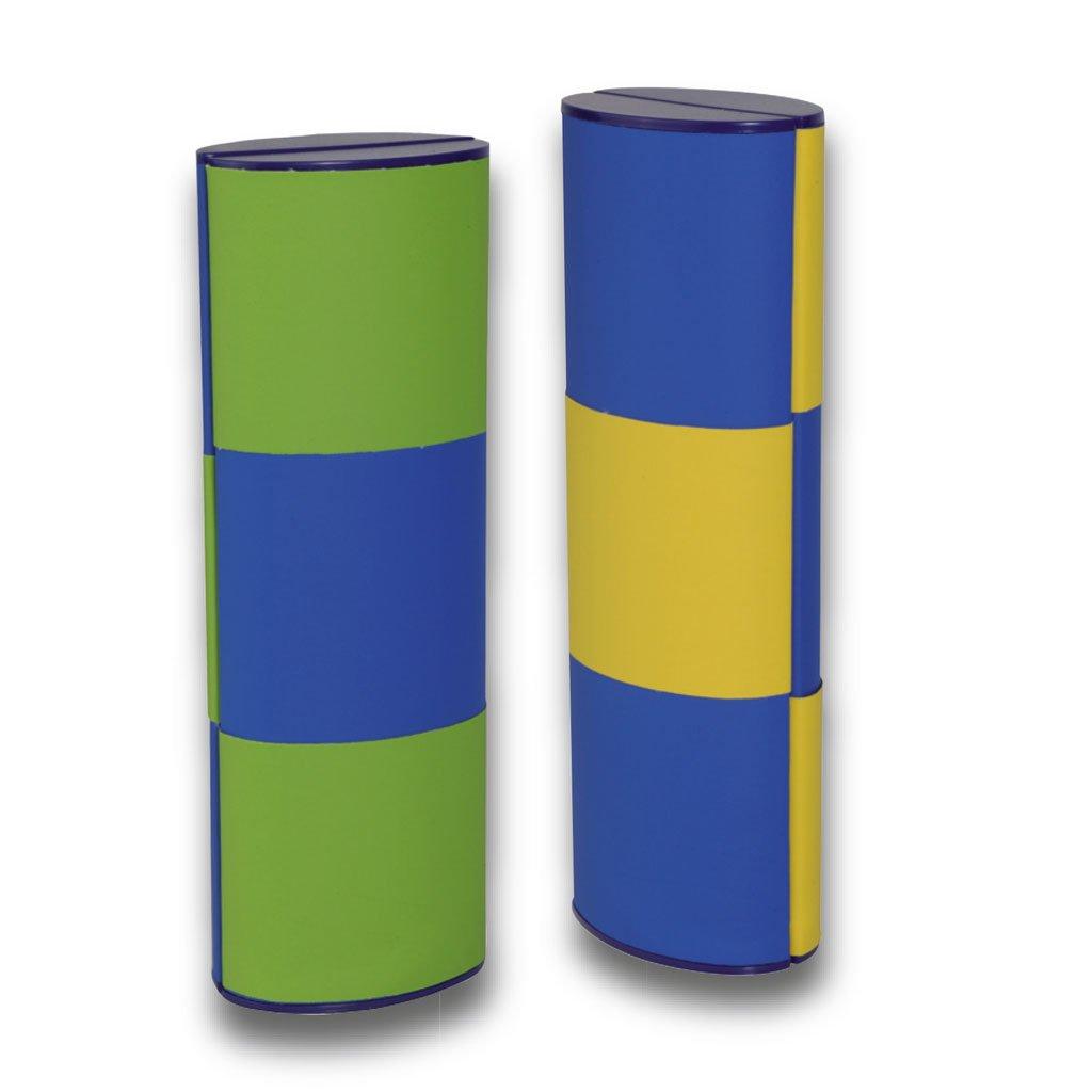 Lifestyle-Optik magic Case Glasses Case Logic Medium Long Bicolor with Colour Change gr/ün-blau//gelb-blau