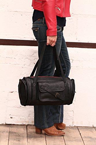 MARIE Nero - taglia cuoio tote bag in stile vintage PAUL MARIUS Barato Barato Venta Muchos Tipos De Venta Honorario Bajo Precio De Envío Precio Barato Descuentos De Liquidación TBOqF