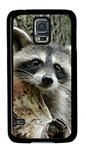 Baby Raccoon 003 Samsung Galaxy S5 Hard Shell with Black Edges Cover Case by Lilyshouse by runtopwell